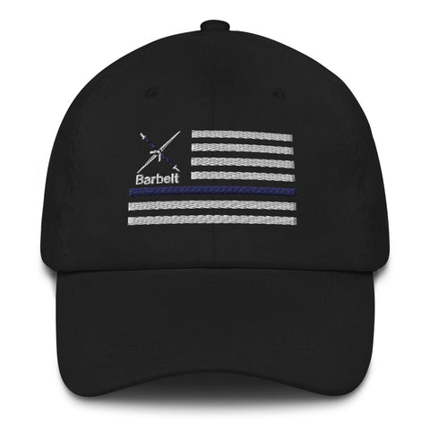 Thin Blue Line Barbelt - Dad hat