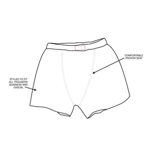 Iconic Boxer Shorts | Tom Clinch | Unique Support Pouch | Home of the 10 year boxer shorts guarantee