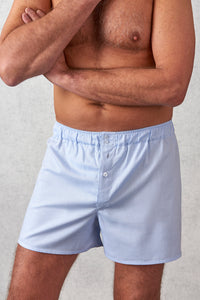 Tom Clinch Blue Boxer Shorts | Unique Support Pouch | Home of the 10 year boxer shorts guarantee