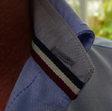 Load image into Gallery viewer, Tom Clinch | Blue Classic Oxford Shirt Collar Detail