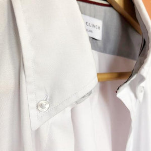 White Button Down Classic Oxford Shirt | Tom Clinch