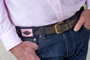 Tom Clinch | Pink and Navy Polo Belt