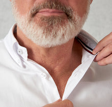 Load image into Gallery viewer, Tom Clinch | White Classic Oxford Shirt Collar Detail