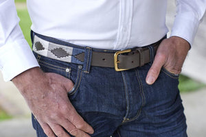 Tom Clinch | Silver Polo Belt