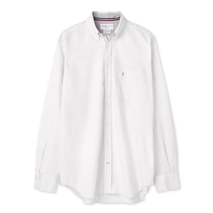 Tom Clinch | White Classic Oxford Shirt