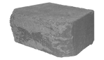 6'' Retaining Wall - Hampton stone cut Rockface - Shasta Forest Products, Inc