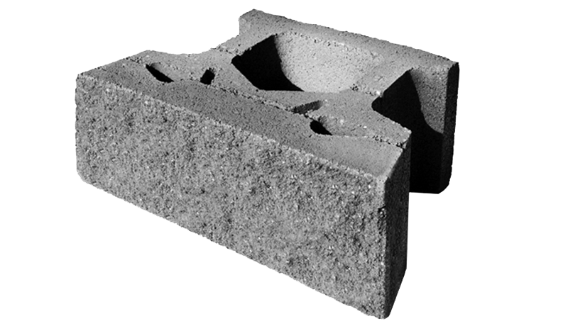 "8"" Retaining Wall - Keystone Compac III - Shasta Forest Products, Inc"