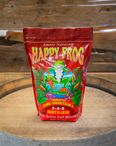 Happy Frog® Tomato & Vegetable Fertilizer - Shasta Forest Products, Inc