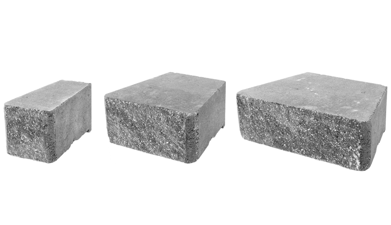 6'' Retaining Wall - Hampton 3 Pc - Shasta Forest Products, Inc