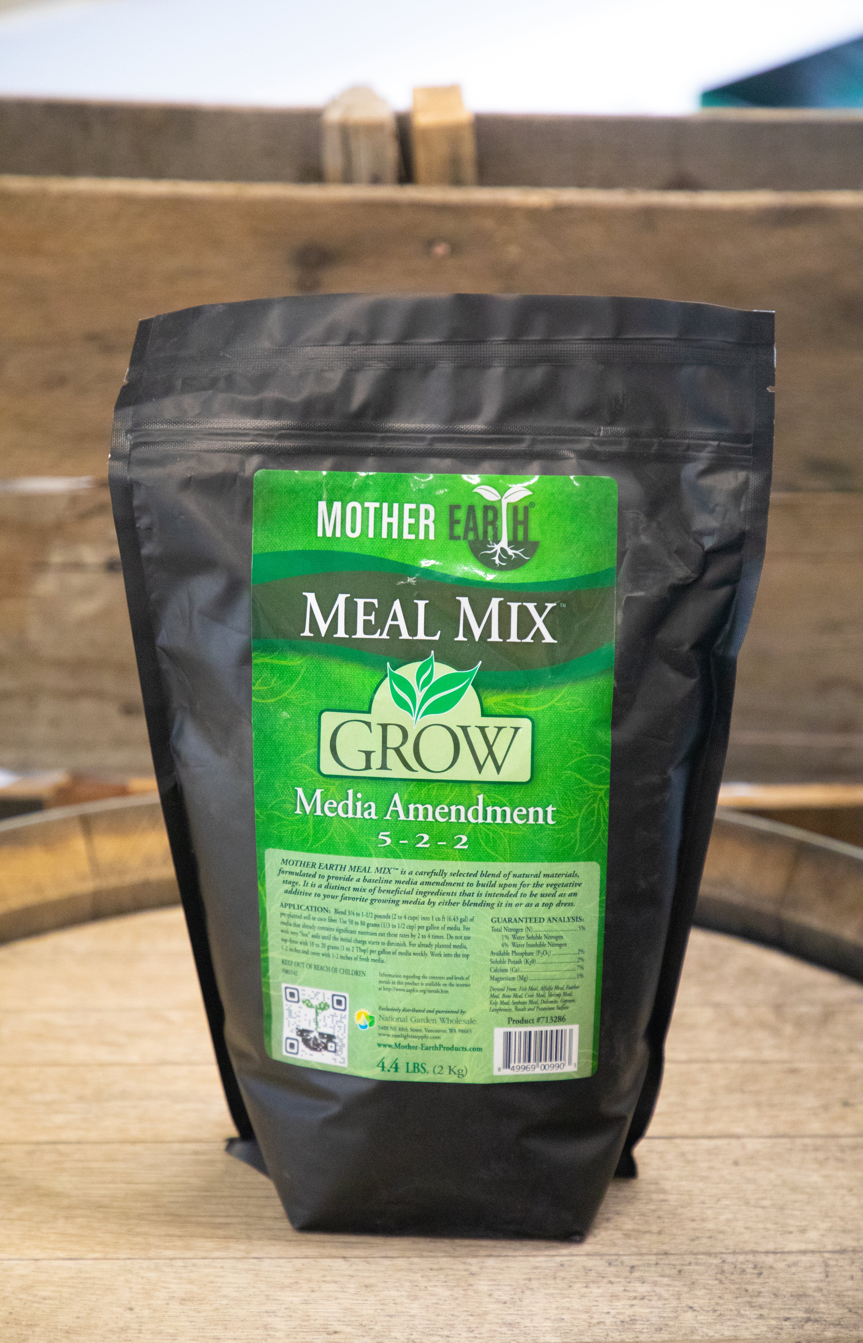Mother Earth Meal Mix® Grow 5-2-2 - Shasta Forest Products, Inc