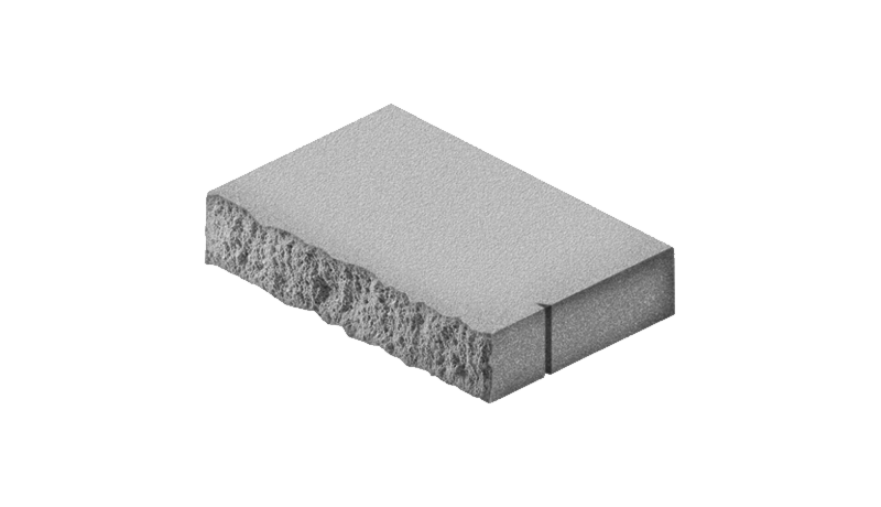 "3"" Rectangle Wall Cap (split one side) - Shasta Forest Products, Inc"