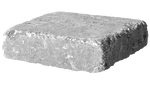 4'' Retaining Wall - Rumble Stone Square, Tumbled