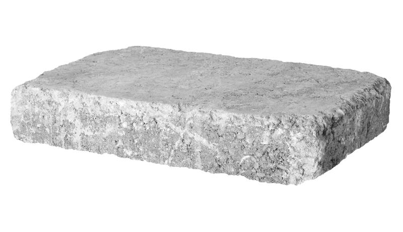 4'' Retaining Wall - Rumble Stone Rectangle, Tumbled
