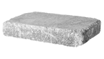 4'' Retaining Wall - Rumble Stone Rectangle, Tumbled - Shasta Forest Products, Inc