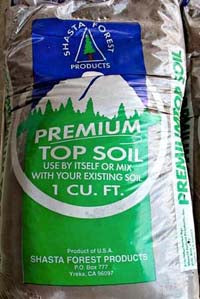 Shasta Blend Top Soil - Shasta Forest Products, Inc
