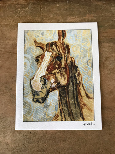 Horse - Notecard Set of 4
