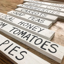 Heirloom Tomatoes Sign