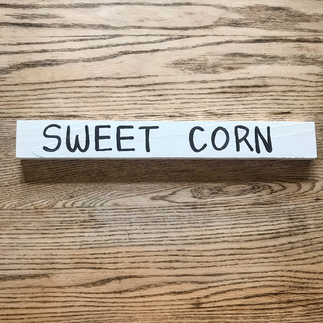 Sweet Corn Sign