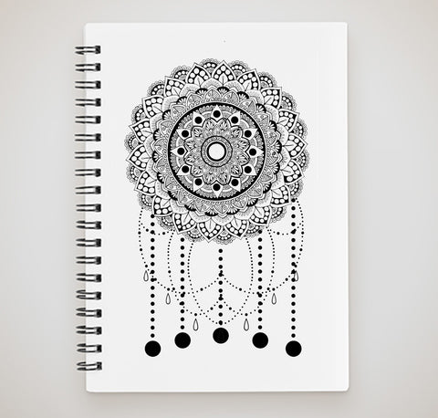 Notebook - Mandala