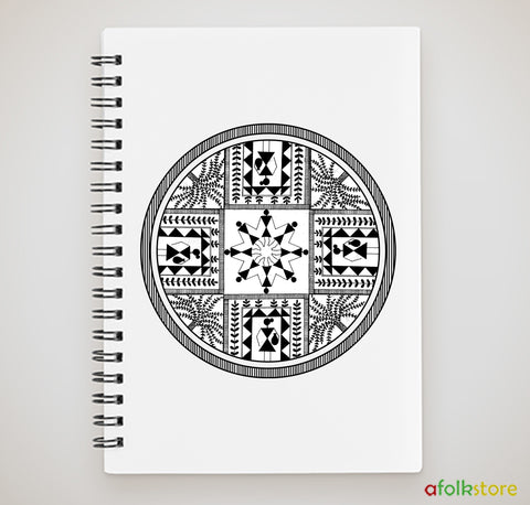 Notebook - Warli Round