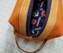 Load image into Gallery viewer, Travel Bag with Auburn Theme