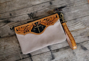 Wristlet with Cross