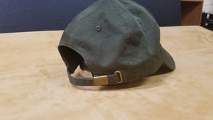 Cap with Hand Tooled Leather Patch