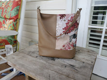 Load image into Gallery viewer, Bonnie Bucket Bag - Taupe & Floral