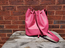 Load image into Gallery viewer, Bonnie Bucket Bag- Hot Pink
