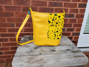 Bonnie Bucket Bag - Yellow