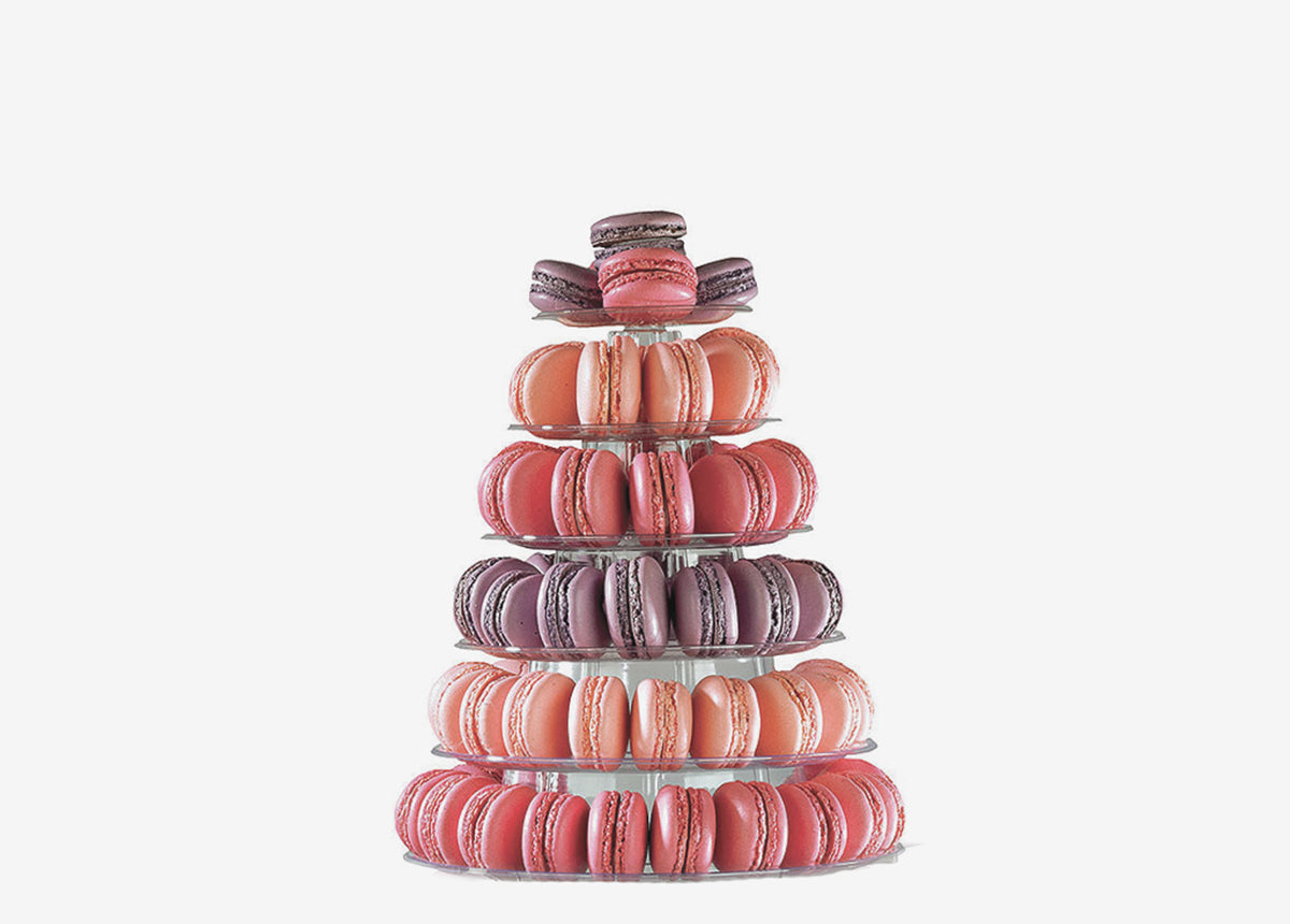 6-Tier Tower (100 Macarons)