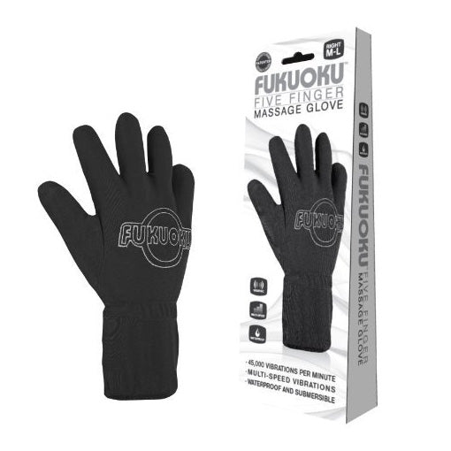 Fukuoku Vibrating Five Finger Massage Glove