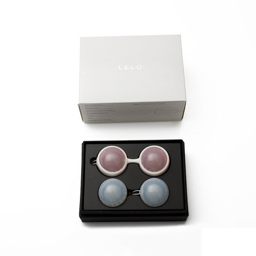 Lelo Luna Beads Pink and Blue