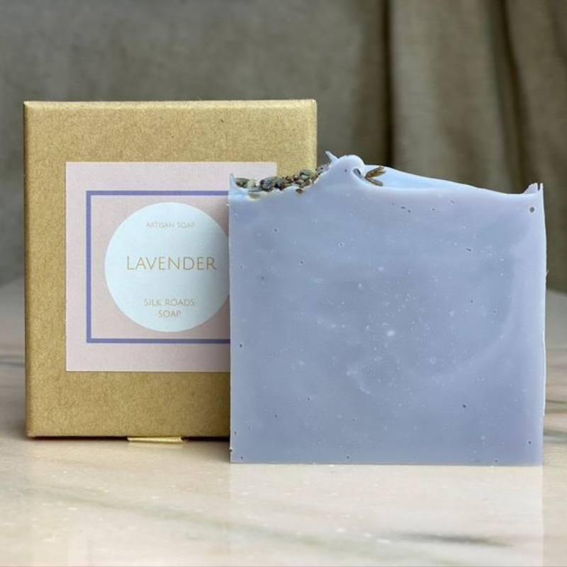 Handmade Vegan Lavender Soap Bar