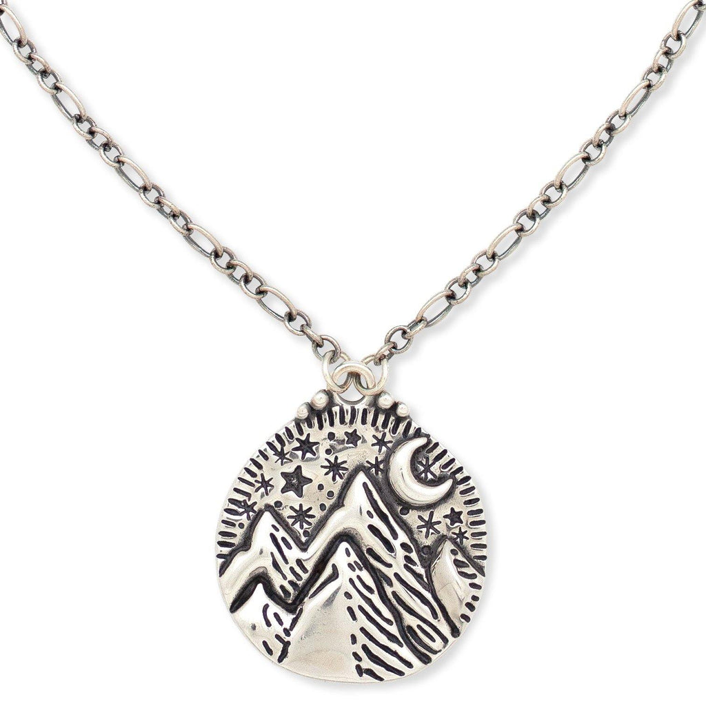 Mountains Of The Moon Necklace -NEW