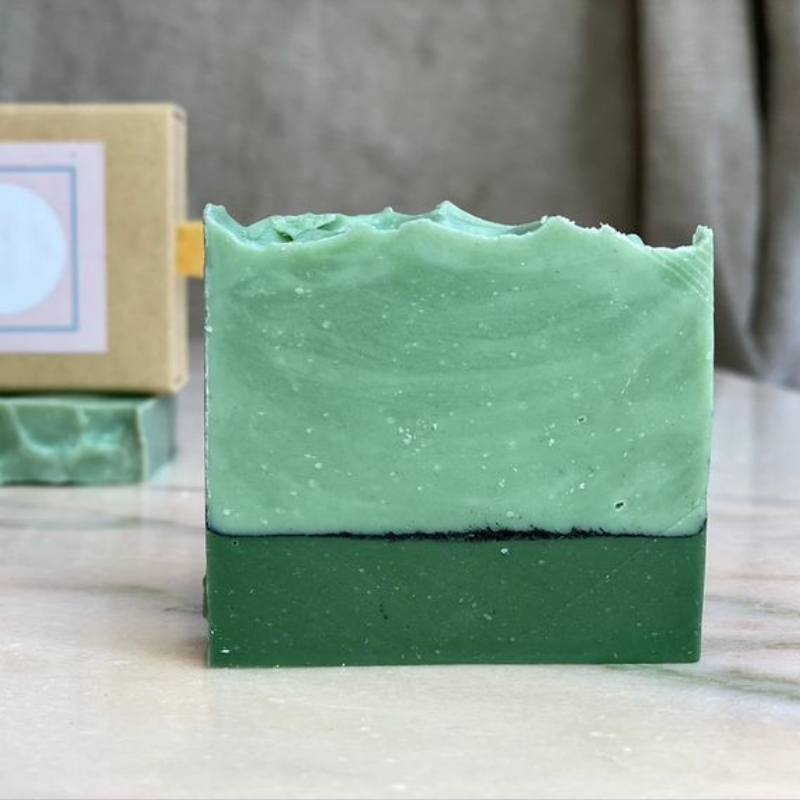 Vegan Handmade Tea Tree And Eucalyptus Luxury Soap