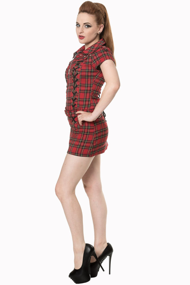 Mod Tartan Dress