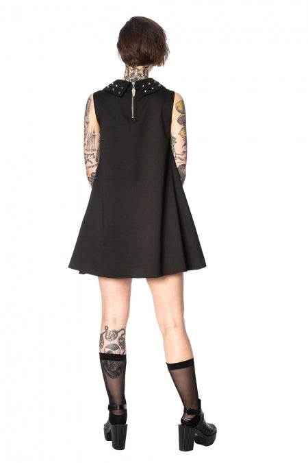Urban Vamp Collar Studs Dress