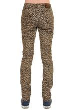 Natural Leopard Stretch Skinny Jeans