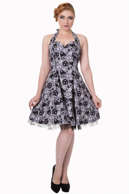 Nine Lives Halter Dress