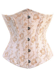Peach Cotton Waist Training Underbust