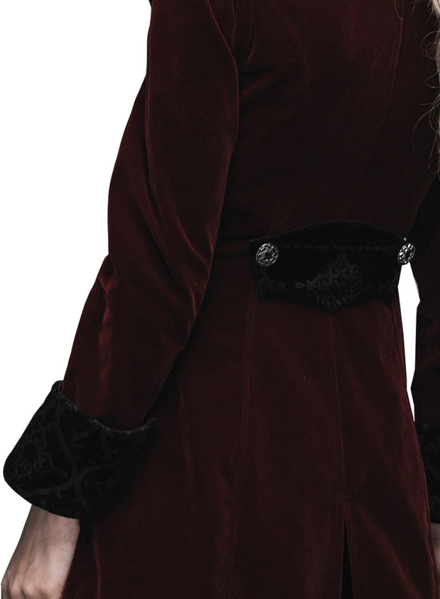 Baroque Ladies Red Jacket