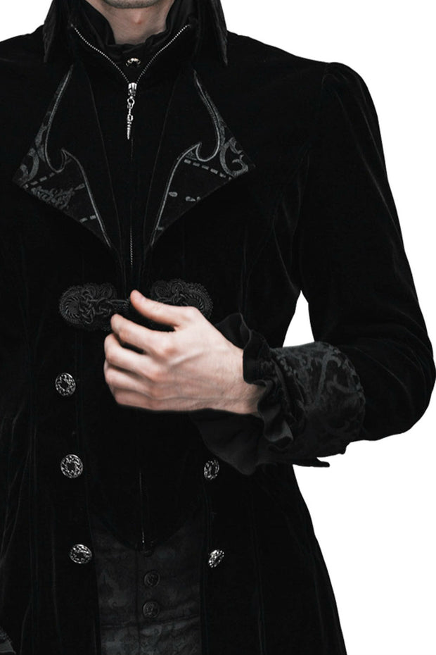 Baroque Black Mens Jacket