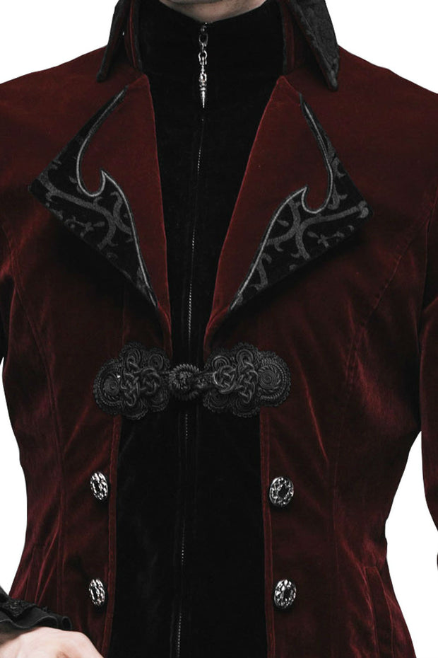 Baroque Red Mens Jacket