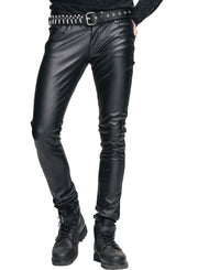 YAMA Faux Leather Trousers