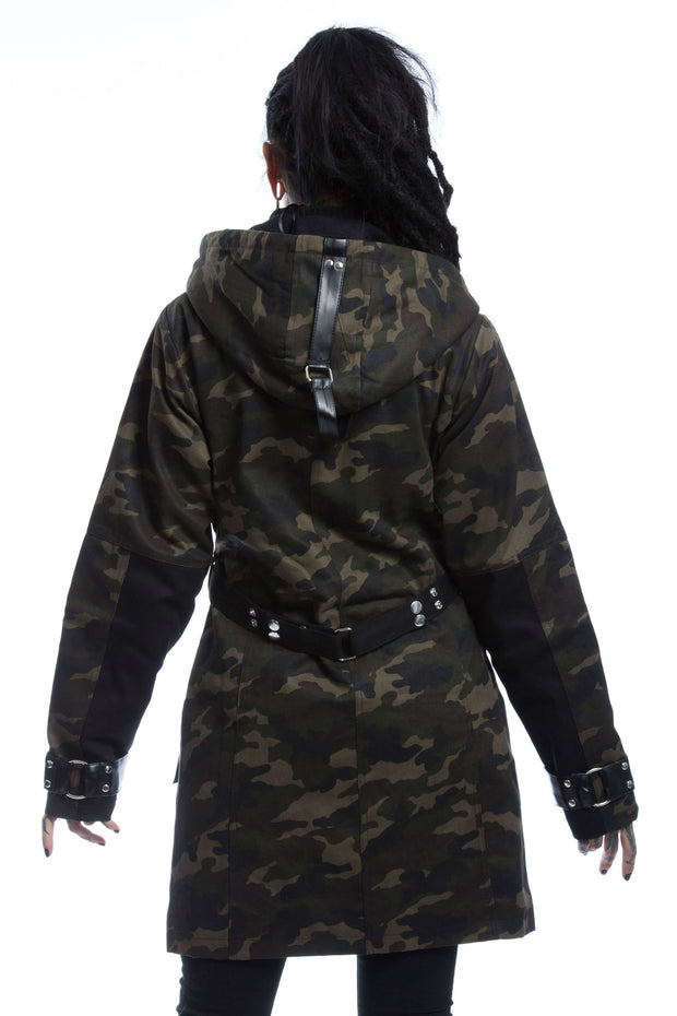 Vasa Jacket - Green Camo