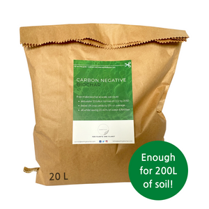 Biochar with Inoculant Powder