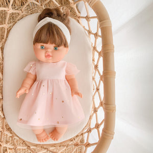 Doll Bella Tulle Dress - Pink - Ready to ship
