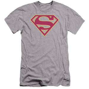 Superman - Red & Gold Shield Premium Canvas Adult Slim Fit 30/1 - 88apparelcompany