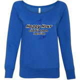 Happy Hour - Women's Sponge Fleece Wideneck Sweatshirt - 88apparelcompany